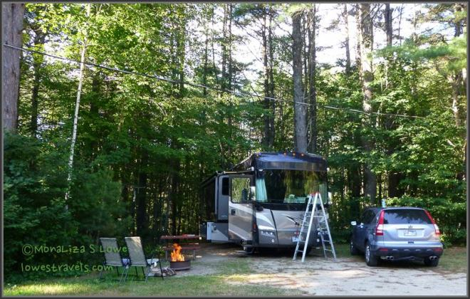 Desert of Maine Campground