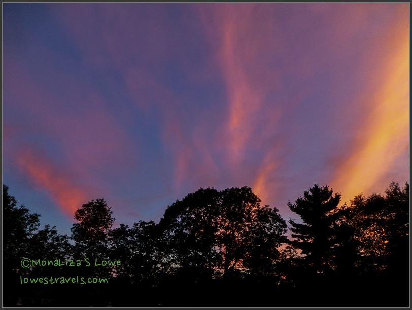 Sunset at New Brunswick