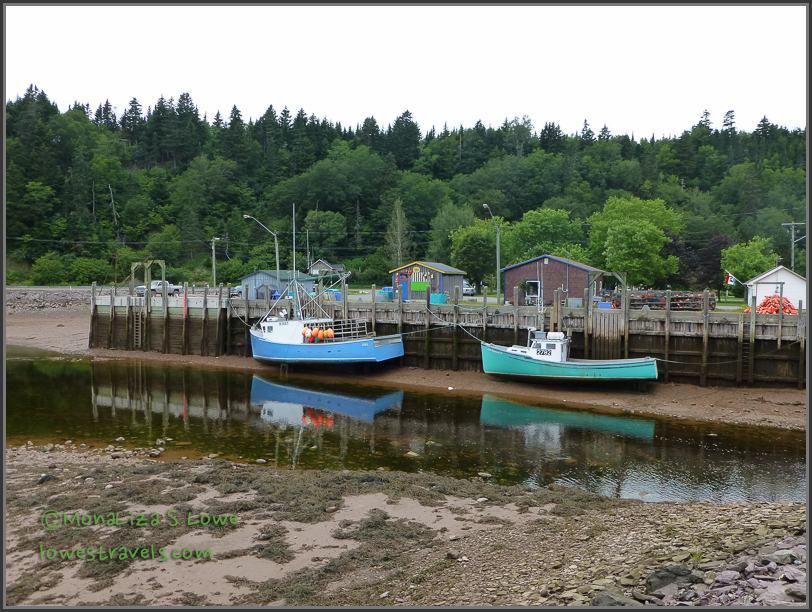 St Martins low tide