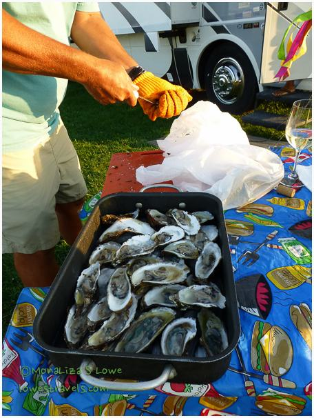 Malpeques oysters