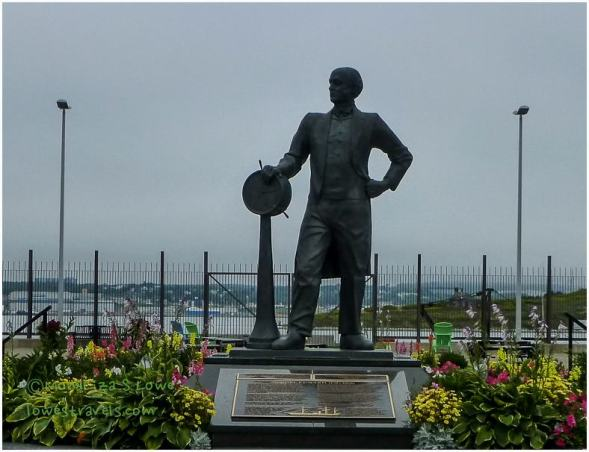 Statue of Sir Samnuel Cunard-native of Halifax