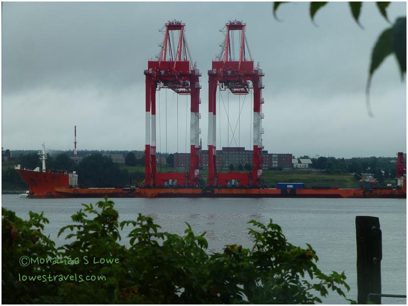 Giant Cranes, Halifax Harbour