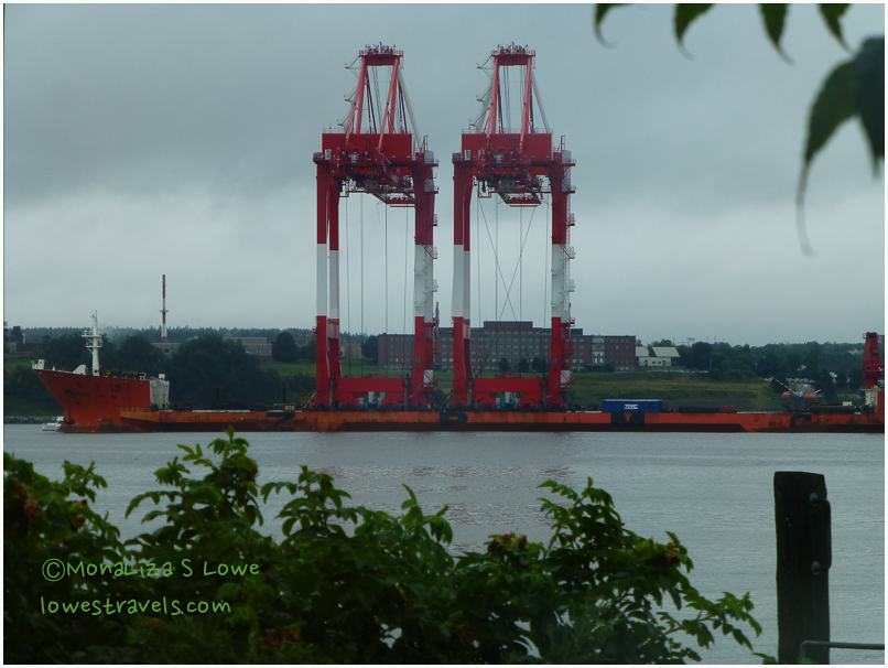 Giant Cranes, Halifax Harbour