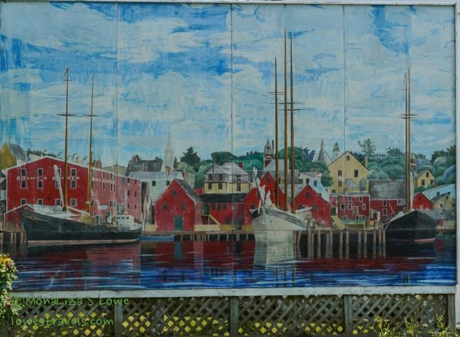 Mural of Old Lunenberg
