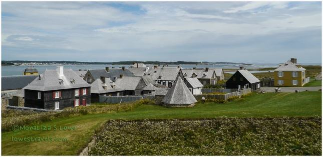 Reconstructed Fortress of Louisbourg