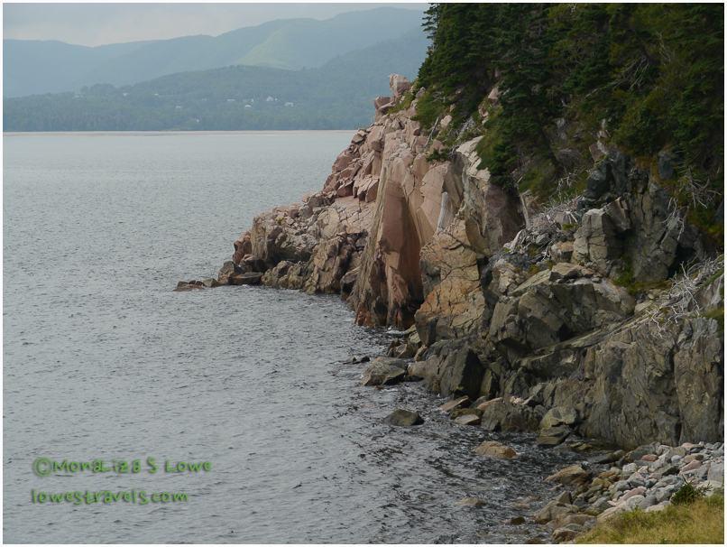 Steep Cliffs, Middle Head Trail