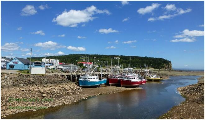Low Tide at Alma, NB