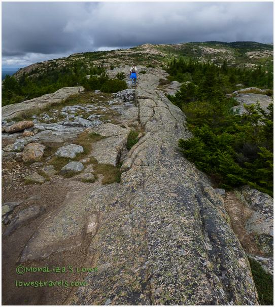 Gouged Granite, Cadillac Mountain