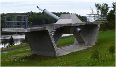 Segment of bridge, Penobscot Narrow Bridge
