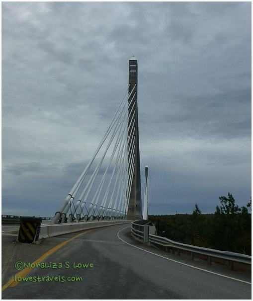 The Penobscot Narrows Bridge observatory