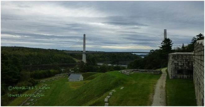 Penobscot Narrows Bridge, Fort Knox