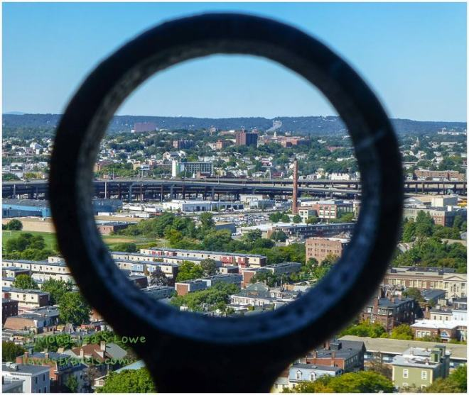 View from Bunker Hill Monument  Obelisk