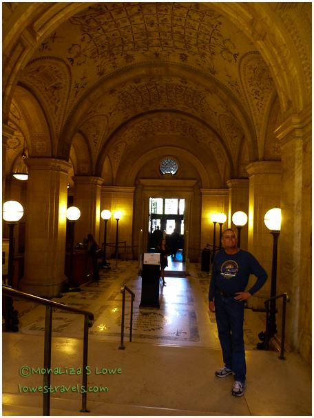 Entrance Hall, Boston Public Library
