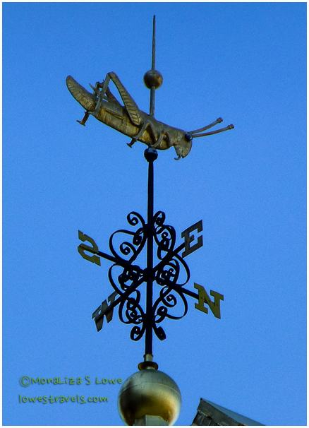 Grasshopper Weathervane