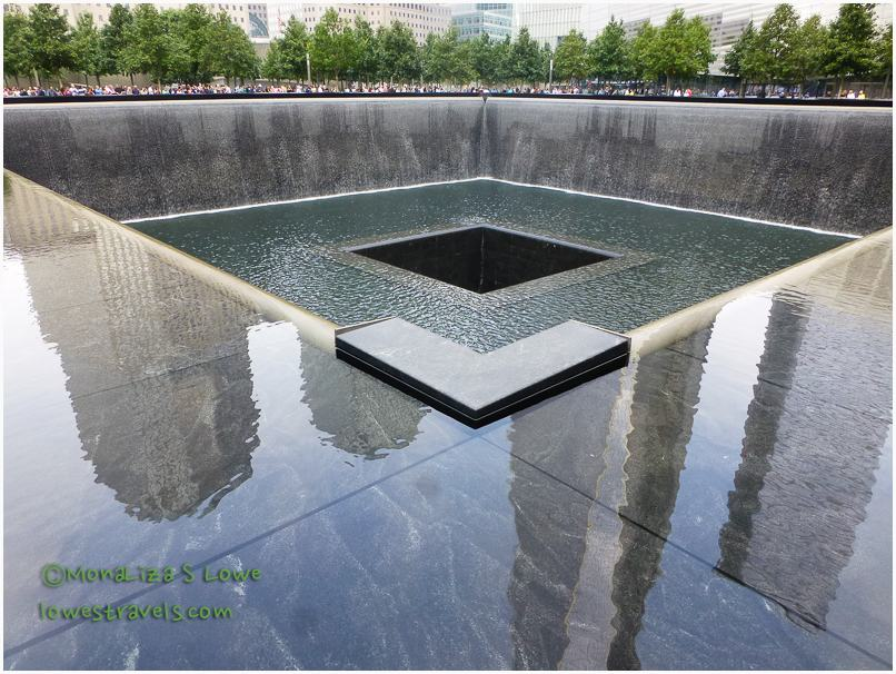 South Pool, 9/11 memorial