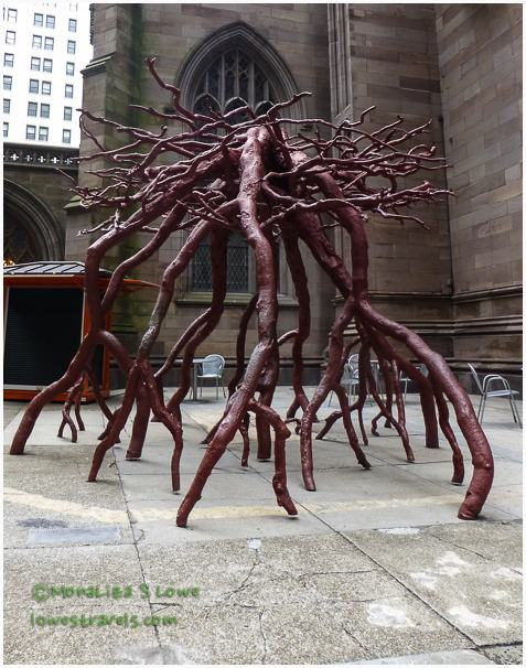 Trinity Root Sculpture, Trinity Church