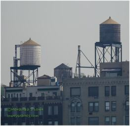Wooden Water Tanks, NYC