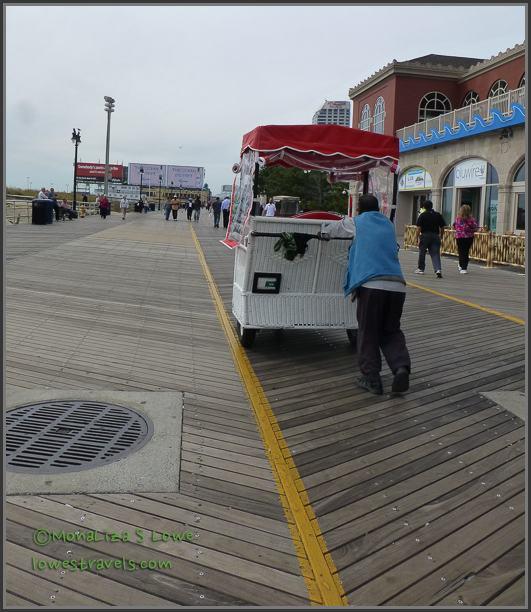 Rolling Chair, Atlantic City Boardwalk