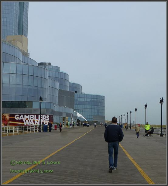 Atlantic City Boardwalk looking North
