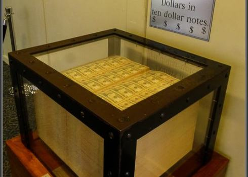 One Million Dollar in Ten Dollar Notes