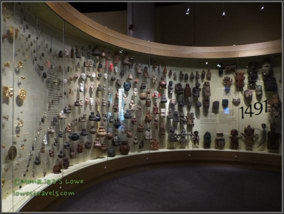 Extensive collections at the National American Indian Museum