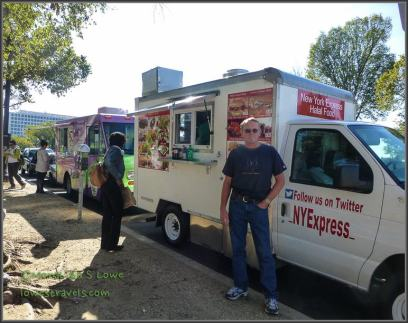 Food Trucks at the national mall