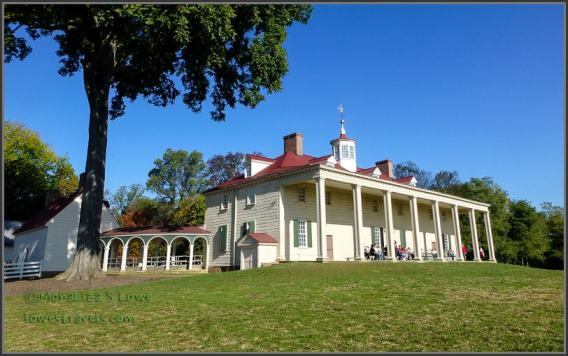 Mount Vernon mansion