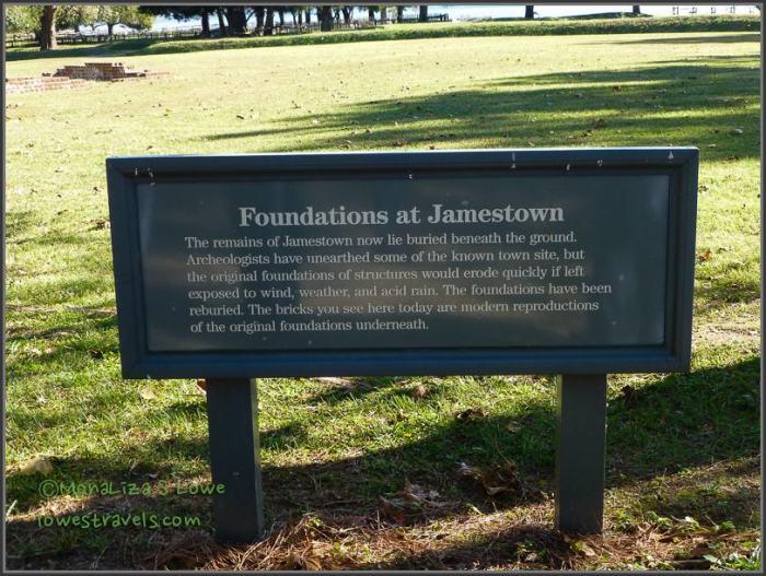 New towne, Jamestowne
