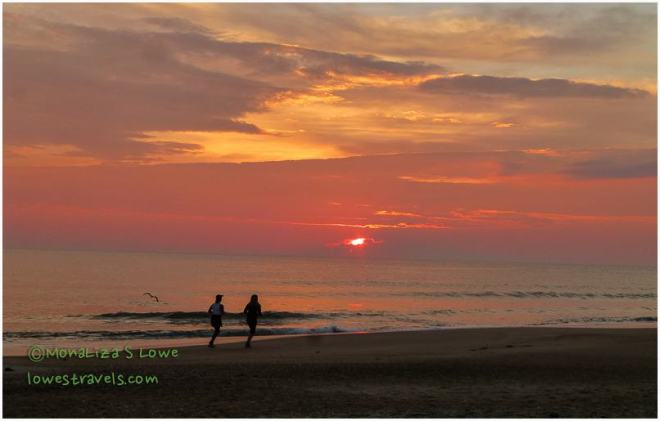 Sunrise at Outer Banks