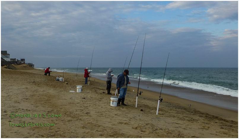 Fishermen at Outer Banks