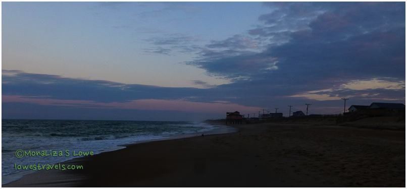 Sunset at Kitty Hawk