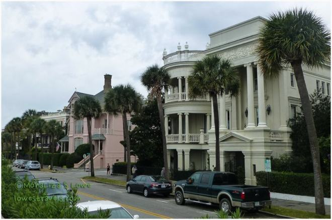 Estate Homes along the Battery,  Charleston