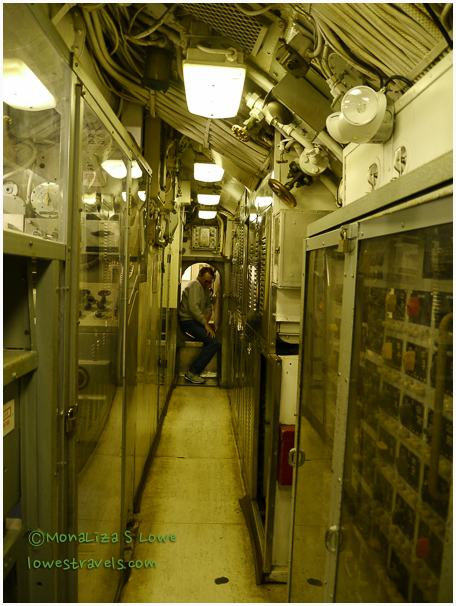 Inside USS CLAMAGORE