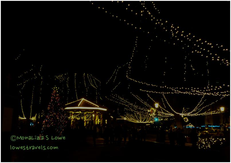 Night of Lights, Plaza de la Constitucion