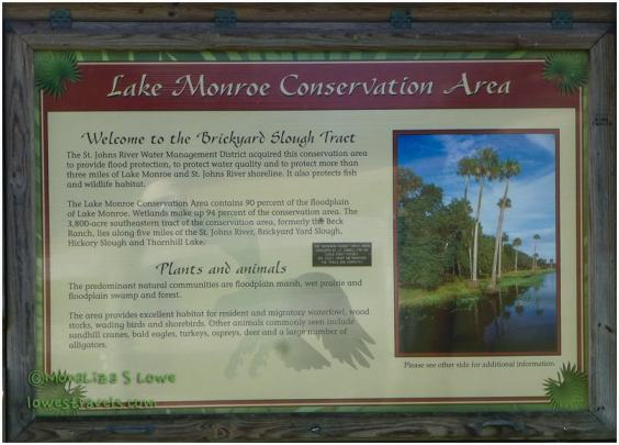 Lake Monroe Conservation Area