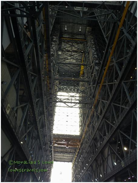 Inside Vehicle Assembly Building