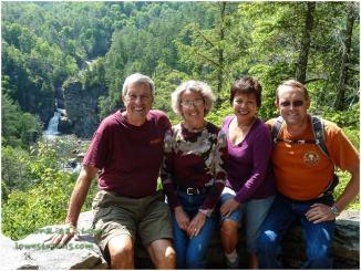 Joe and Judy in North Carolina