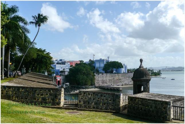 Walls surrounding San Juan