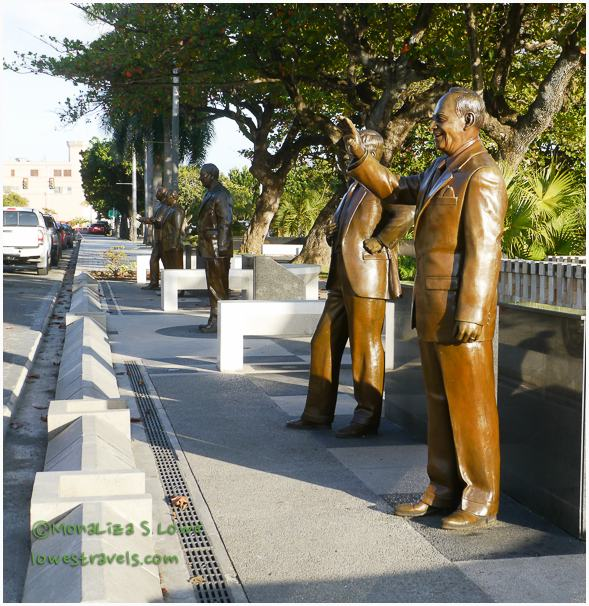 Walkway of the Presidents, San Juan, PR
