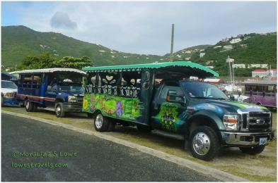 Taxi in British Virgin Island