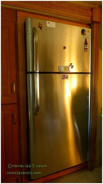 Residential Refrigerator in an RV