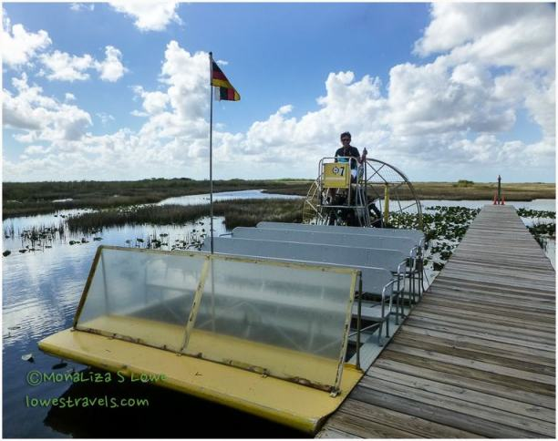 Airboating in the Everglades