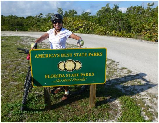 Biking at Bahia Honda State Park