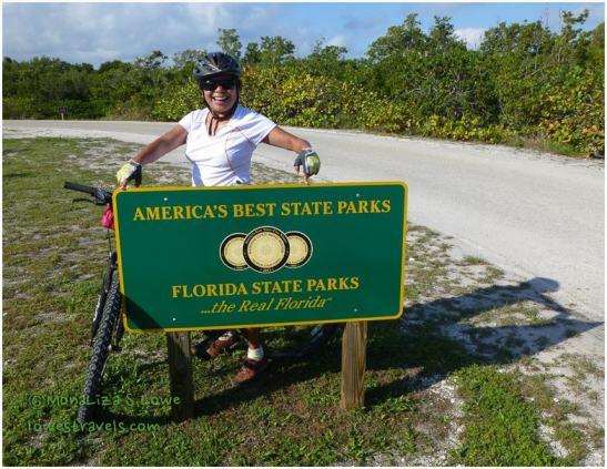 Biking at Bahia Honda State Park