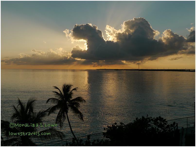 Sunset from Old Bahia Honda Bridge
