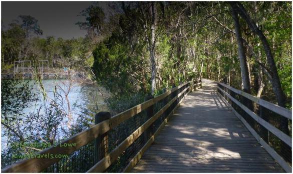 Boardwalk at Homosassa Wildlife Park