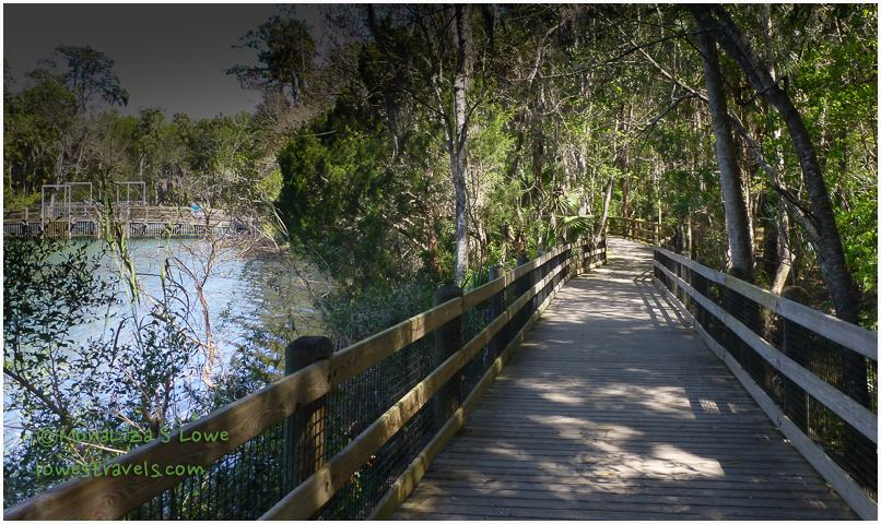 Boardwalk at Homosassa Wildlife Park