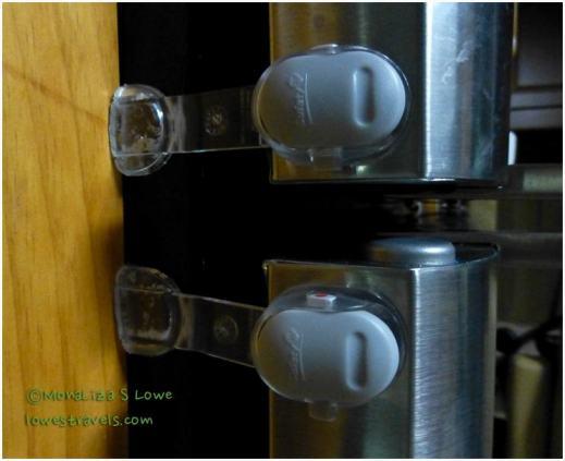 Refrigerator locks