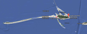 Map of Dauphin Island Alabama