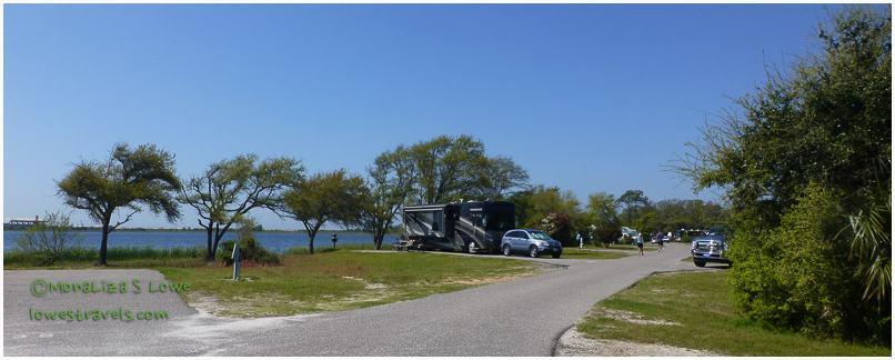 Live Oak Road, Gulf State Park,